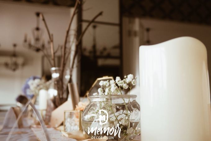 Sean and Joon on Rustic Wedding by Memoir Decor - 004