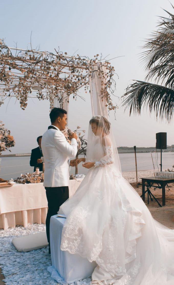 Beach Wedding Party, Ivan & Sherliana by David Entertainment - 004