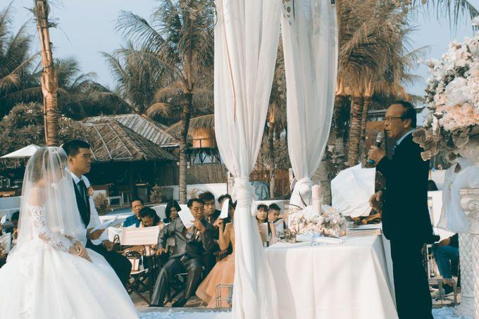 Beach Wedding Party, Ivan & Sherliana by David Entertainment - 008