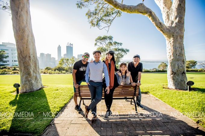 Perth Destination Pre-Wedding Photoshoot by Angel Chua Lay Keng Makeup and Hair - 007