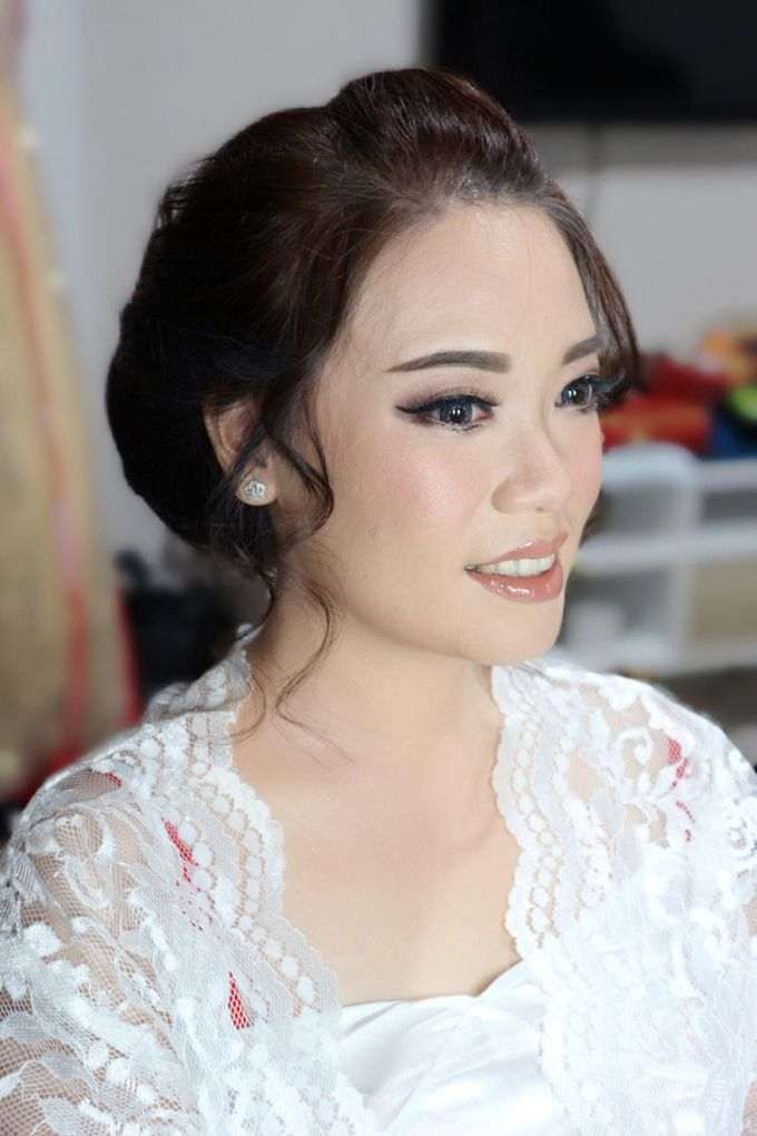 Wedding Day For Bride Silvi July 22nd 2018 By Nike Makeup