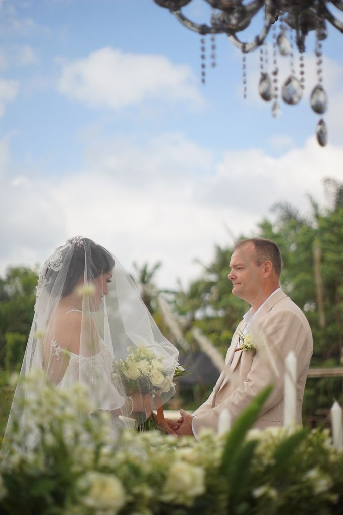 MIKE & ESTHER WEDDING by Visesa Ubud - 001