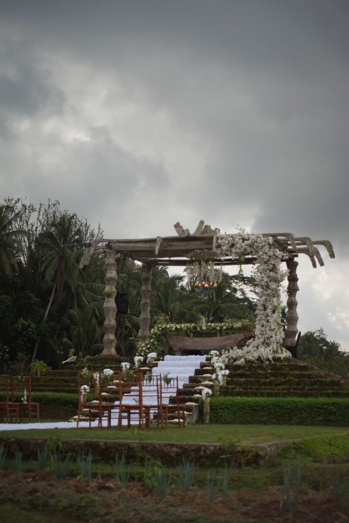 MIKE & ESTHER WEDDING by Visesa Ubud - 010