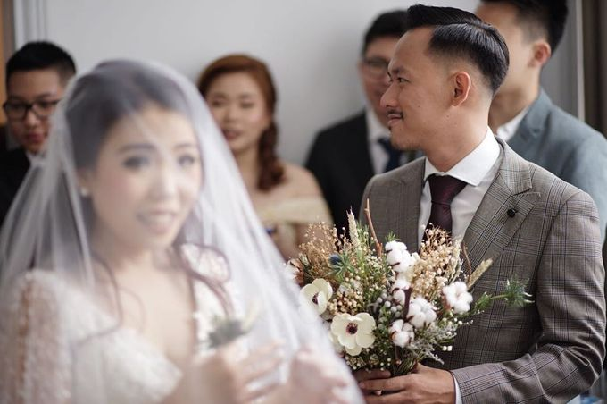 Intimate Wedding - Alpha & Calista by AB Photographs - 005
