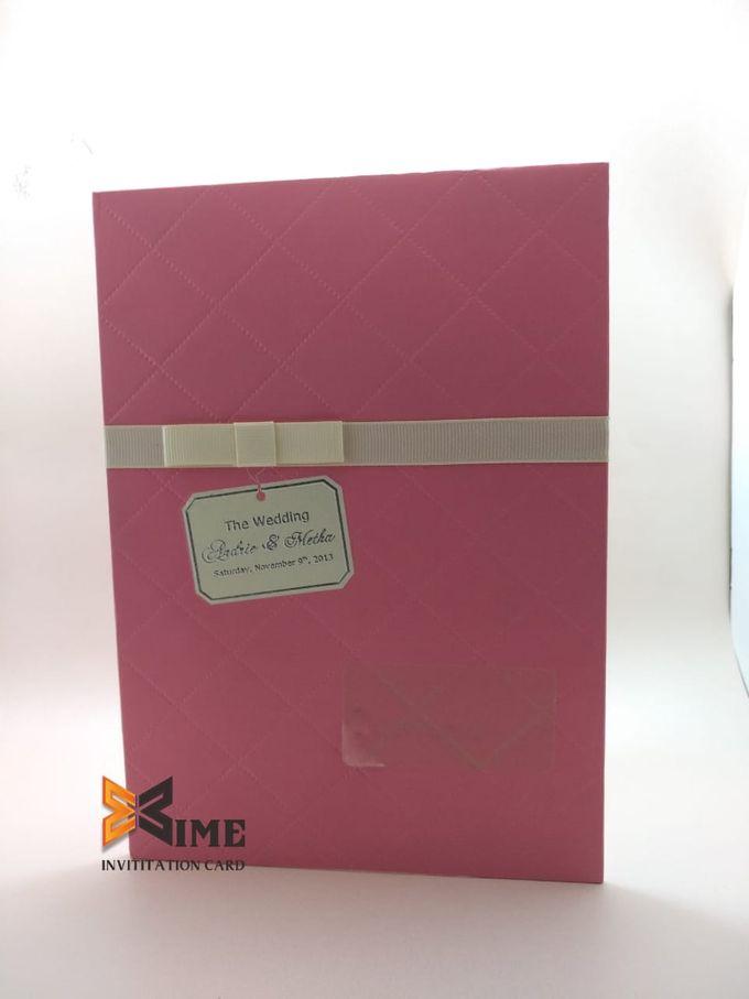 custom design by xime wedding card - 004