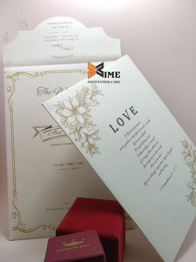 custom design by xime wedding card - 003