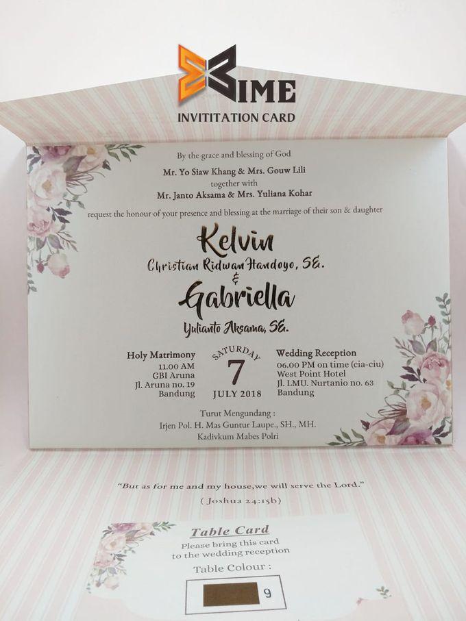 custom design by xime wedding card - 002
