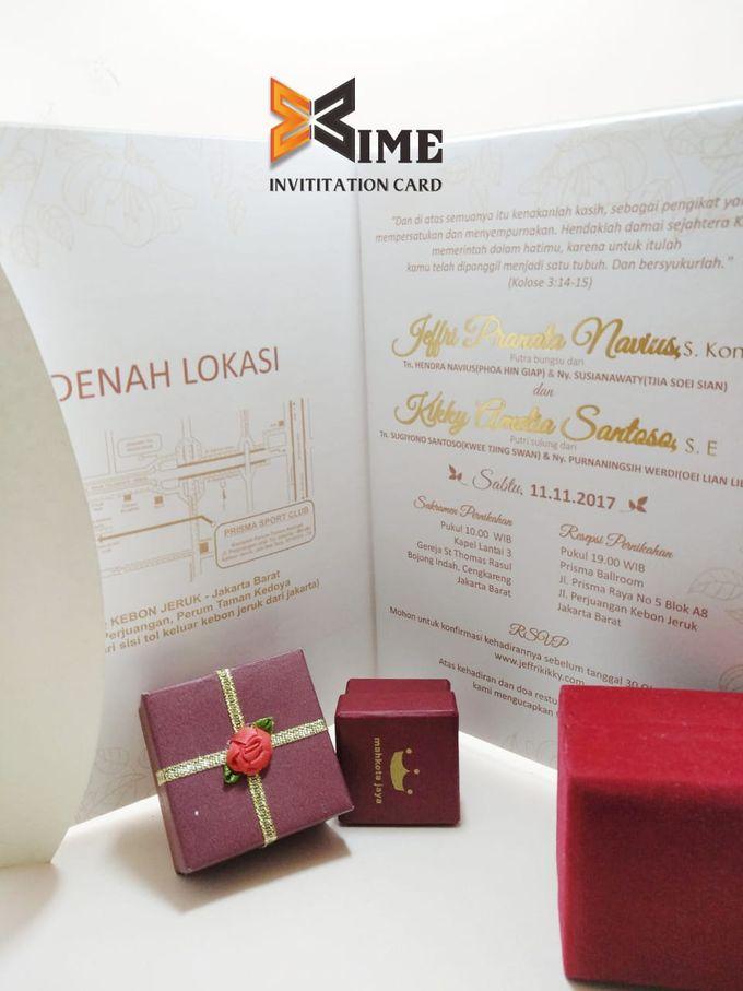 custom design by xime wedding card - 026