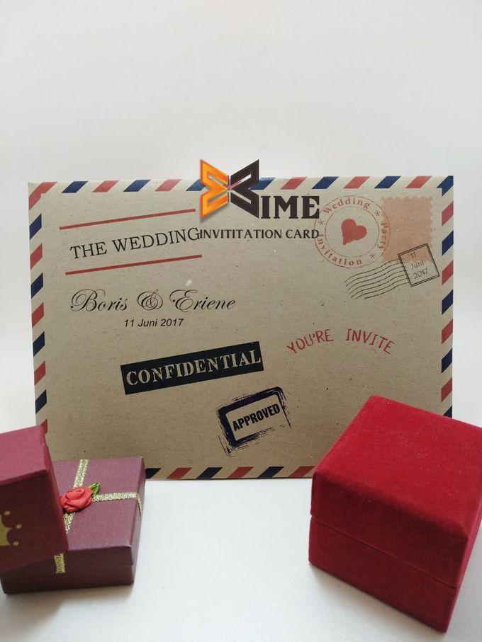 custom design by xime wedding card - 022