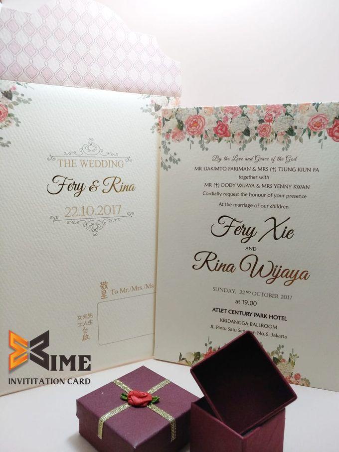 custom design by xime wedding card - 009