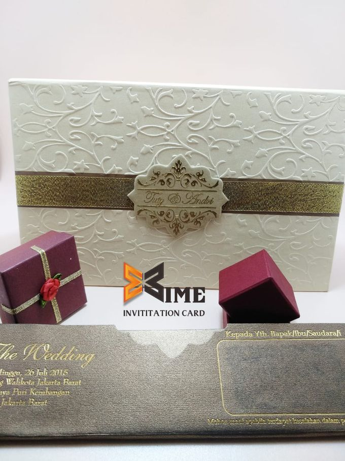 custom design by xime wedding card - 012