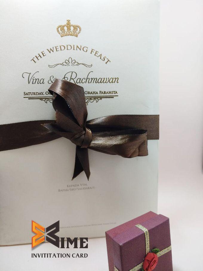 custom design by xime wedding card - 030