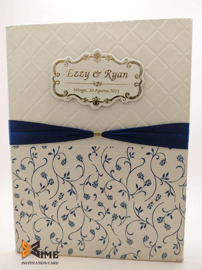 custom design by xime wedding card - 006