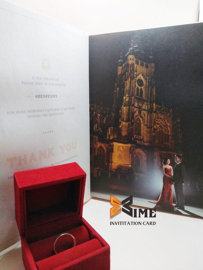 custom design by xime wedding card - 014