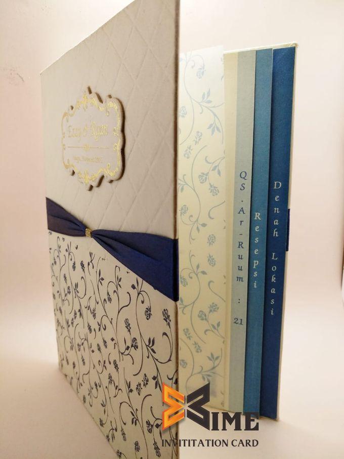 custom design by xime wedding card - 028