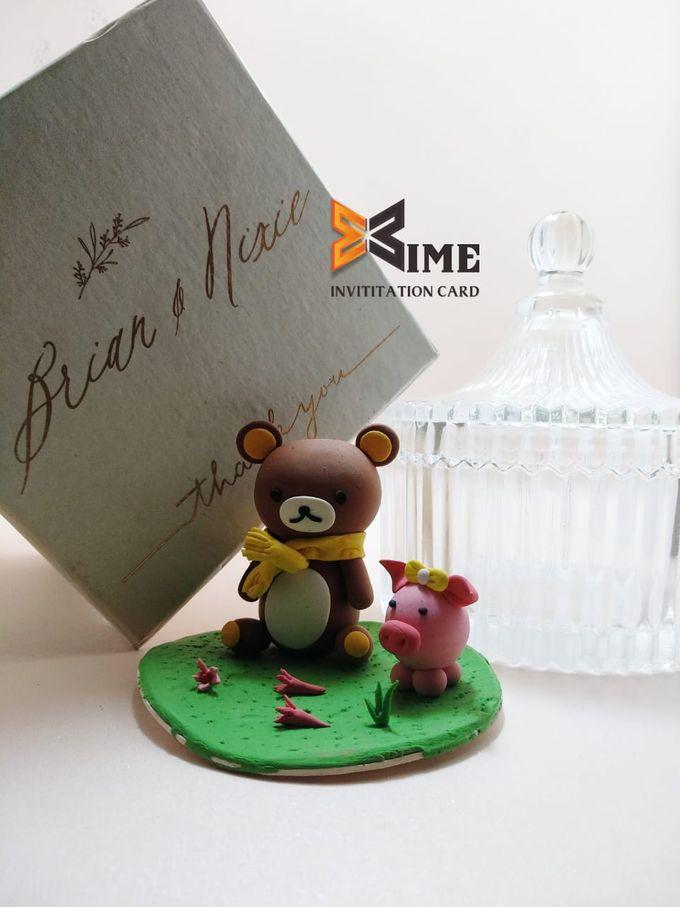 custom design by xime wedding card - 005