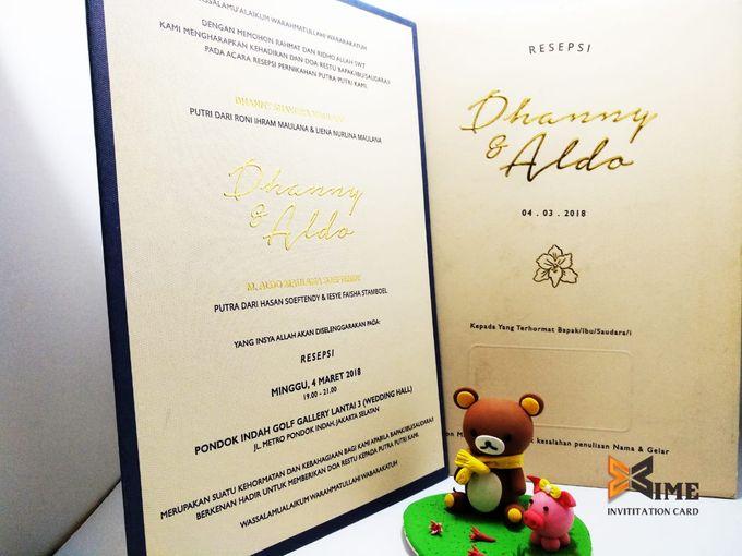 custom design by xime wedding card - 019