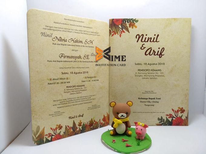 custom design by xime wedding card - 010