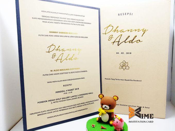 custom design by xime wedding card - 008