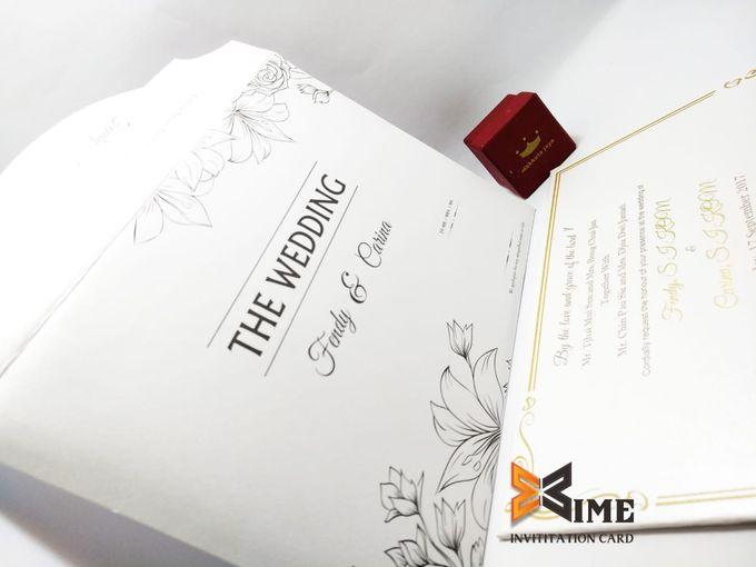 custom design by xime wedding card - 029