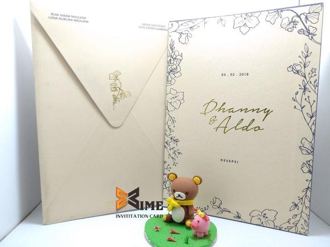custom design by xime wedding card - 018