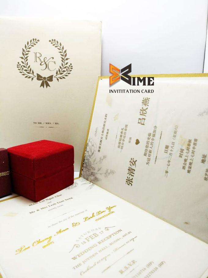 custom design by xime wedding card - 013