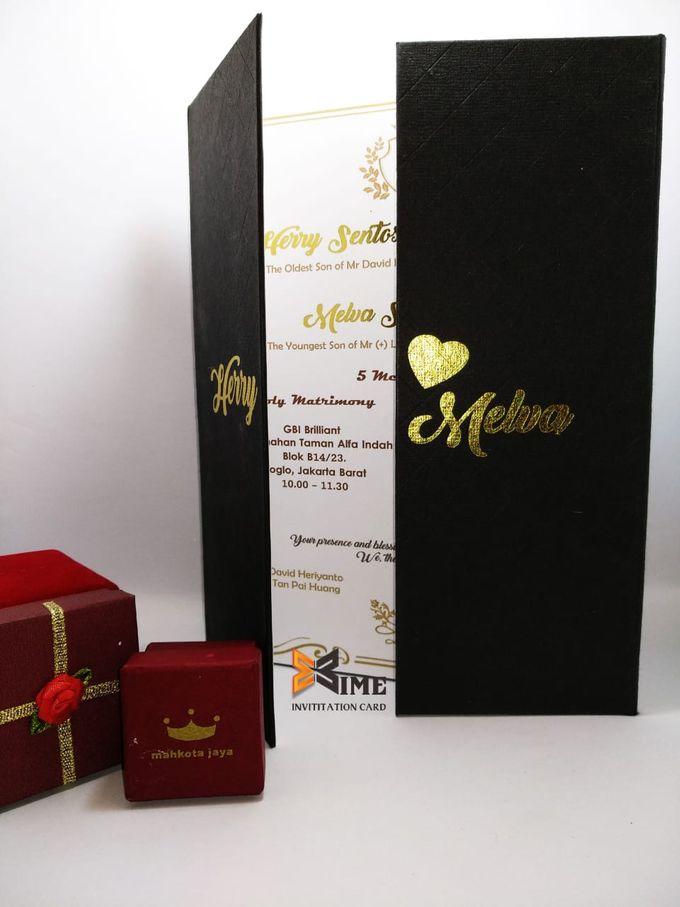 custom design by xime wedding card - 024