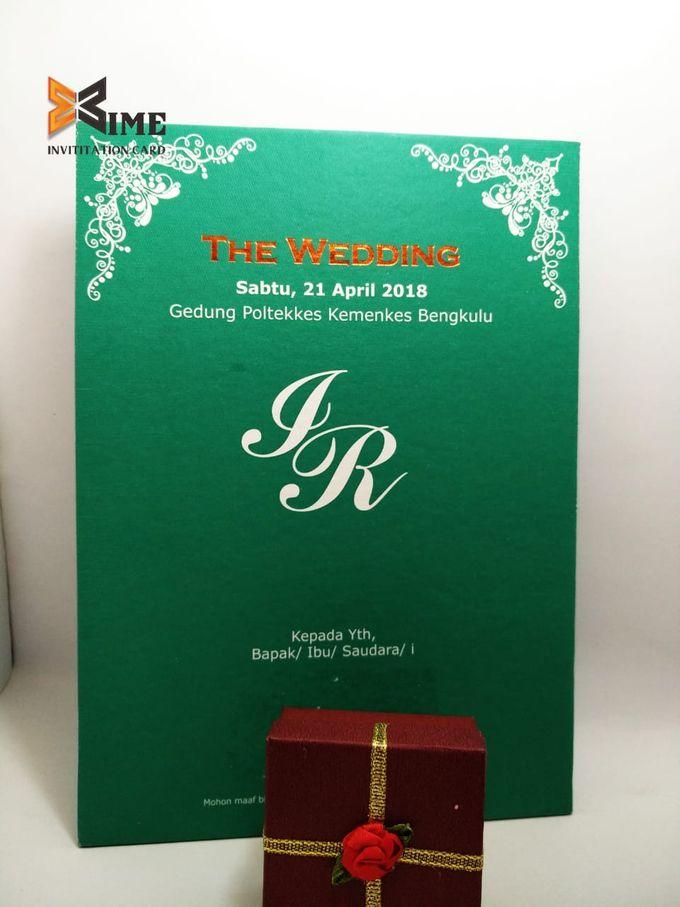 custom design by xime wedding card - 032