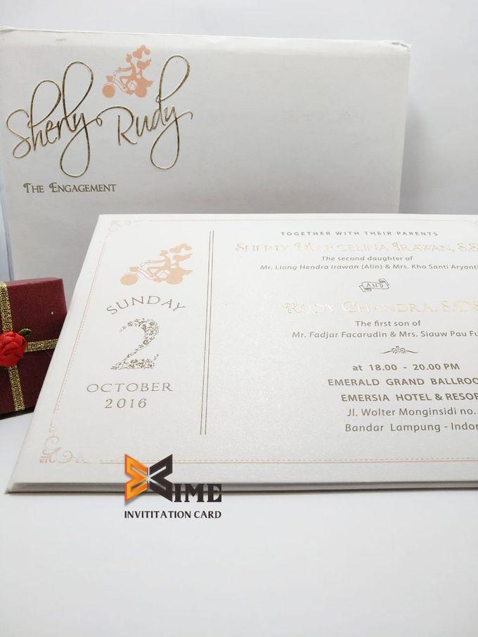 custom design by xime wedding card - 007