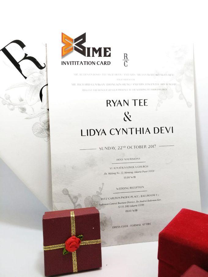 custom design by xime wedding card - 021