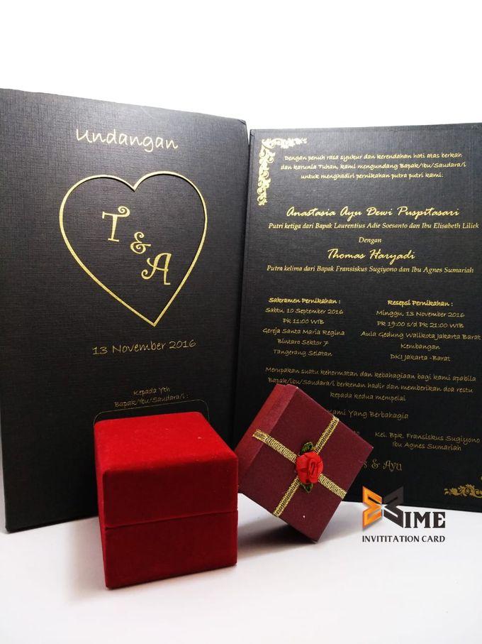 custom design by xime wedding card - 023
