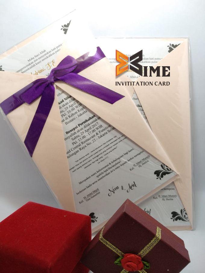 custom design by xime wedding card - 025