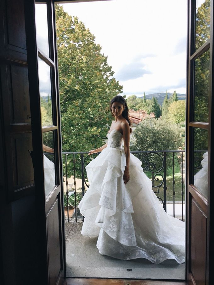 Danielle Wedding At Tuscany by Bridal Luxury Beauty Service - 002