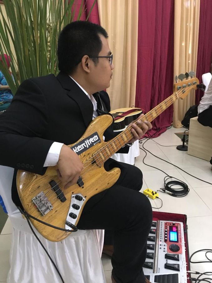 Prilly & Wishal Wedding Ceremony by 1548 band - 005