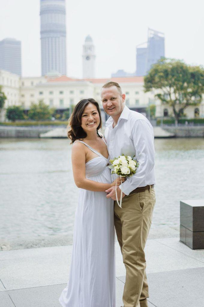 Congrats Kelvin And Maria Wedding Day by Amber Liu Make up and Hair  - 019