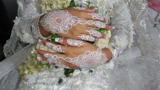 Henna Akad Nikah by Ikkie henna art - 006