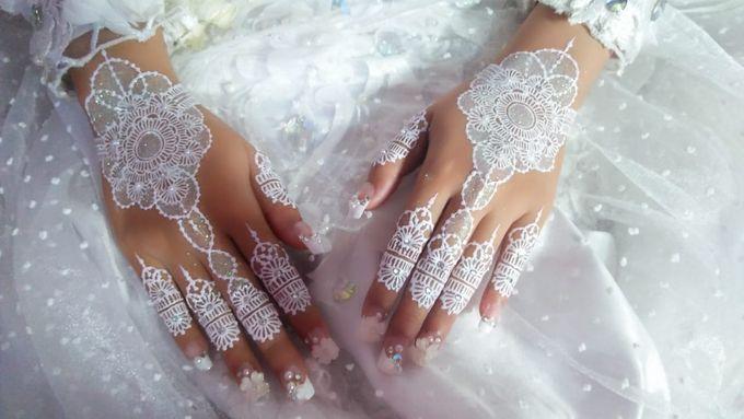 Henna Akad Nikah by Ikkie henna art - 004