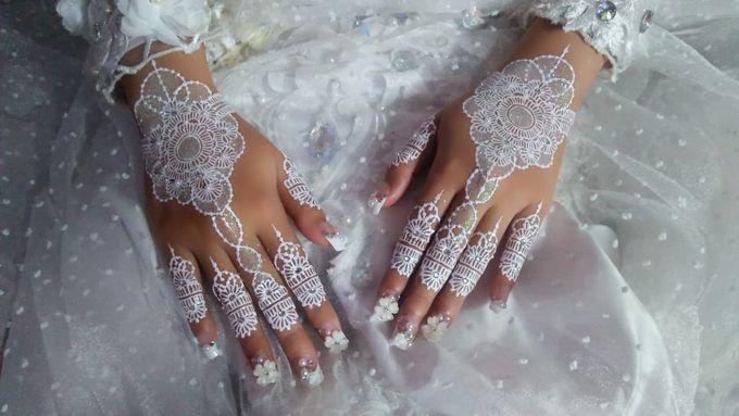 Henna Akad Nikah by Ikkie henna art - 003