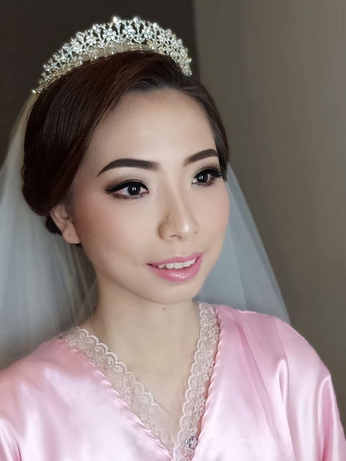 Mega's Wedding Makeup by Oscar Daniel - 005