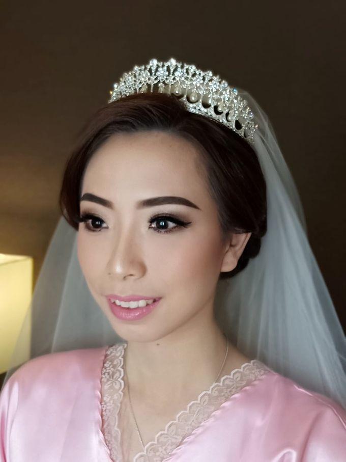 Mega's Wedding Makeup by Oscar Daniel - 004