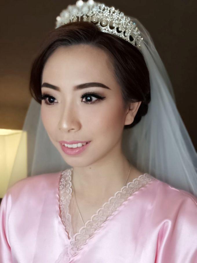Mega's Wedding Makeup by Oscar Daniel - 006