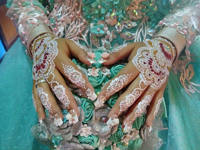 Henna Akad Dan Wedding by Ikkie henna art - 004