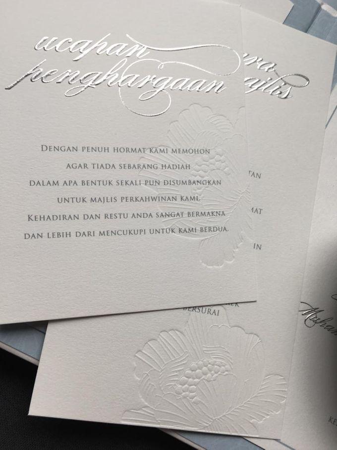 Hariz & Shareen Kuala Lumpur Wedding by Pemberley Paperie - 001