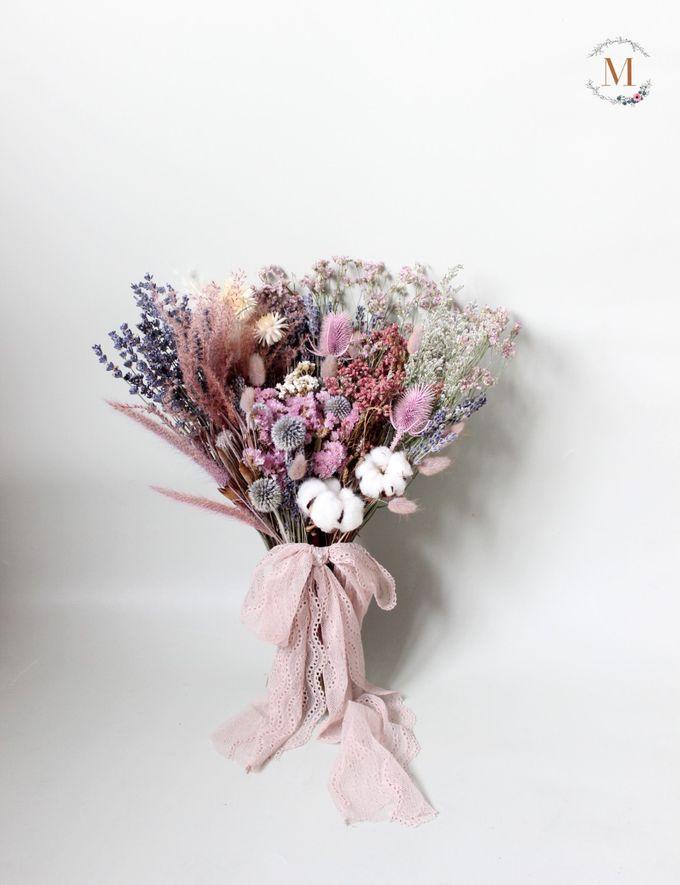 Dried Bouquet Wedding by Magnolia Dried Flower - 013