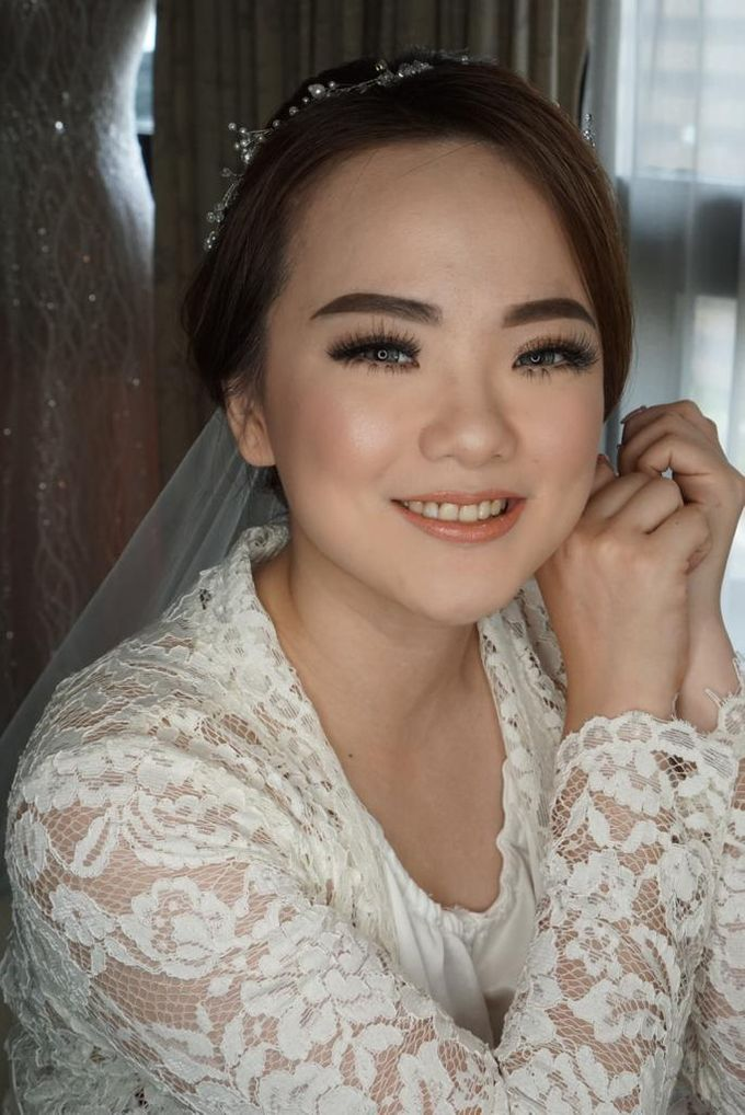 Bride Ms. Fedora by Chesara Makeup - 001