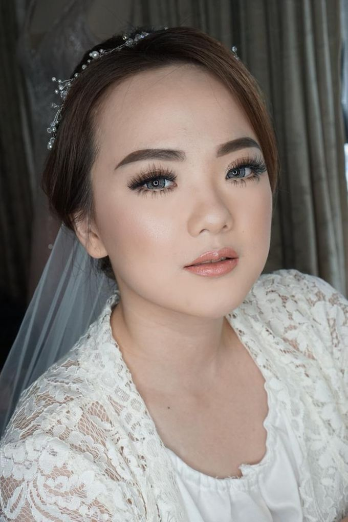 Bride Ms. Fedora by Chesara Makeup - 003