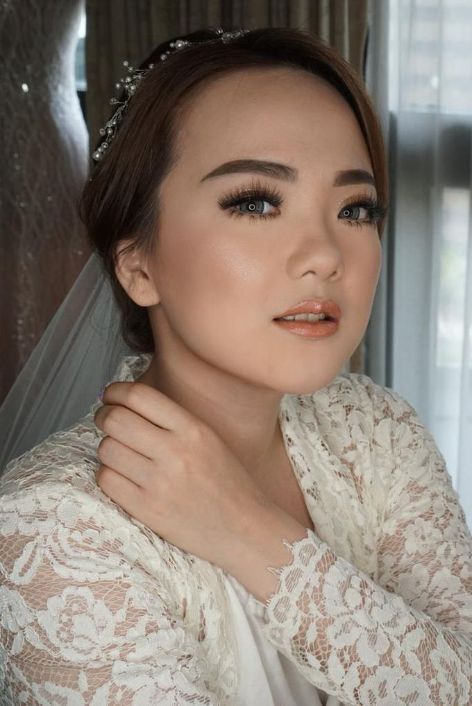 Bride Ms. Fedora by Chesara Makeup - 006