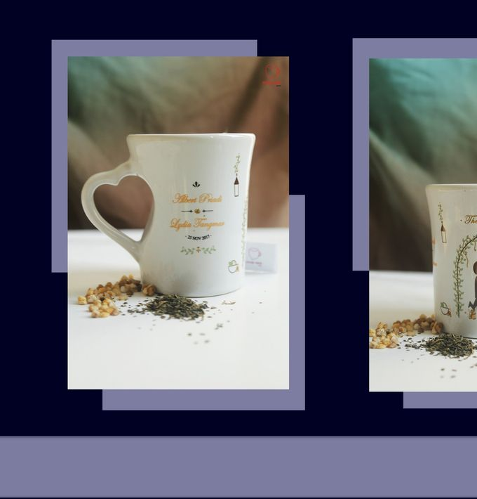 F.MINI LOVE by Mug-App Wedding Souvenir - 002
