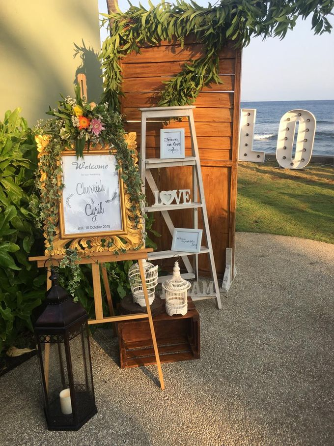 Cherrish & Cyril Wedding Dinner by Bali Becik Wedding - 003