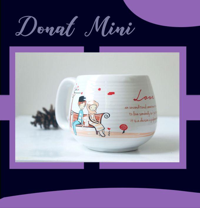 Mug Donat Mini by Mug-App Wedding Souvenir - 002